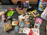 Big job lot of car boot items toys etc