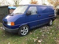 Vw T4 van transporter ideal base for a camper