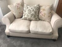 DFS 2 seater cream sofa FREE