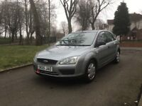 2005 FORD FOCUS LX 5DR 1.6 PETROL **DRIVES VERY GOOD + GREAT FAMILY CAR + SPACIOUS**
