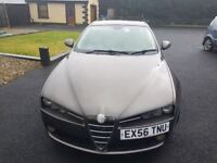 Alfa Romeo 159 2.2 JTS Lusso 4dr£2,990 p/x welcome FREE WARRANTY. NEW MOT