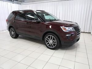 2018 Ford Explorer SPORT 4WD SUV 7PASS