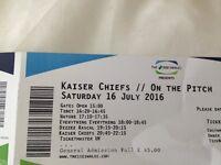 2 X Kasier Chiefs & Dizzy Rascal Tickets. Sat 16th July @ Cardiff SSE Swalec Stadium