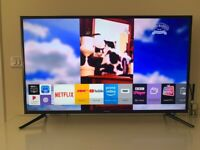 samsung 4k ultra hd smart 40 inch led tv+brilliant condition+built in apps+wifi+remote+DELIVERY