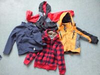 Coats and Fleeces Bundle for 5 - 6 year olds