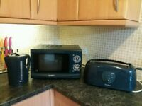 Kettle, Toaster and Microwave