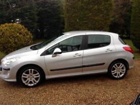 Peugeot 308 only 70000 miles fsh
