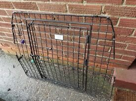 Rear dog gate