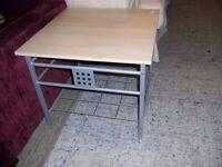 Square coffee table at Cambridge Re-Use (cambridge reuse)