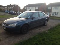 Ford Mondeo 53 plate for spares and repairs