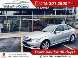 2011 Mercedes-Benz C-Class C300 4MATIC LOADED