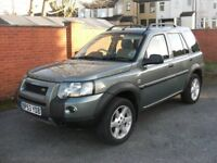 land rover freelander td4 hse ONLY 99K, FSH, AUTO, full heater leather, mint bodywork and interior