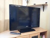 "TELEVISION - Toshiba 32"" LCD HD 1080p XV55 series with remote and stand"