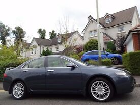 12 MONTH WARRANTY! HONDA ACCORD EXECUTIVE CTDi- One Owner- Low Mileage- Full HONDA History- Top Spec
