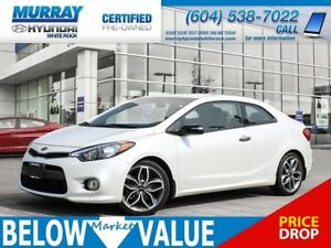 2015 Kia Forte Koup 1.6L SX**A/C**REAR CAMERA**BLUETOOTH**