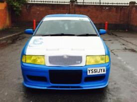 Skoda Octavia Vrs 1.8 turbo stage 3 remapped with antilag & launch control pops bangs 300 bhp 1895