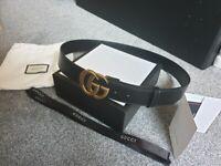 404b2fde889 Gucci mens belt 34 - 36