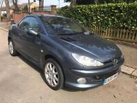 PEUGEOT 206 ALLURE CC CONVERTIBLE 1.6 2006 FULLY LOADED LONG MOT DRIVES THE BEST