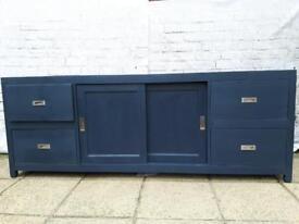 Large Vintage Shabby Chic sideboard