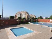 Almeria costa , Roquetas de Mar . Studio apartment ,pool 500m distance to beach
