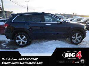2016 Jeep Grand Cherokee Limited, Sunroof, Remote Start, BT