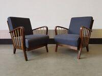1 Left - Vintage Retro Mid Century Armchair 1960's