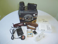 Canon EOS M3 with Premium Accessory Kit 18-55 Zoom and Spare Geniune Battery