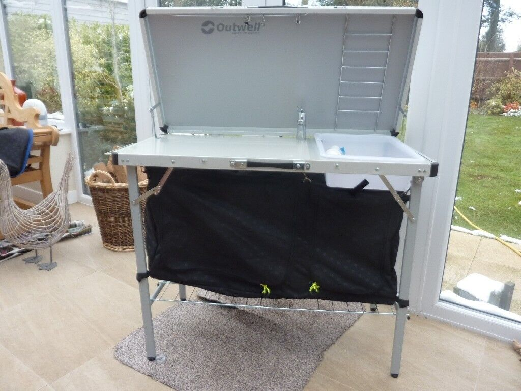 Outwell Camping Kitchen. Outwell Camping Kitchen Table Flatpack And ...