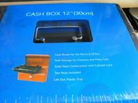 Cash Box - Steel - with keys - By Cathedral - Brand New