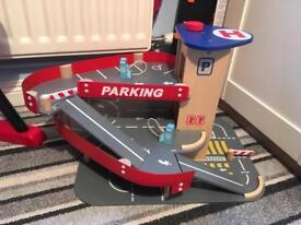 Big City Wooden Play Garage Car Park