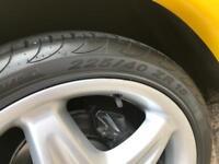 2 x 225 40 18 Pirelli p zero nero