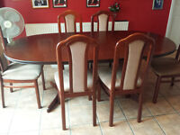 Dining Tables & 6 Chairs