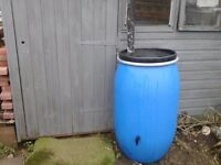 220 litre water butts with fitted tap