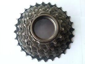 bike 6 speed shimano freewheel,for mountain bike