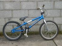 boys blue bike 20'' mongosse