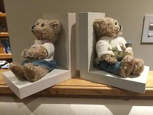 Baby Teddy Bear Bookends