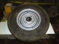 10 inch mini wheel with good tyre 5/20/10 good for trailer ext