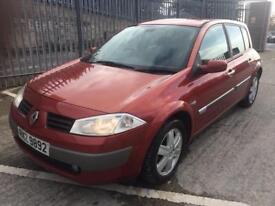 2005 Renault megane 1.6 full years mot