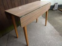 Long Thin Drop Leaf Table Delivery Available