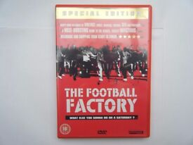 THEV football Factory. DVD Special Edition.Used in very good condition