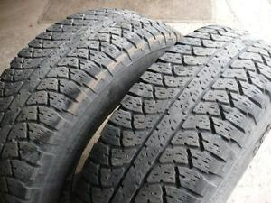 two 265-70-17 tires$90.00
