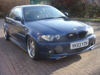 BMW 3 SERIES 2.5 325CI SPORT SSG 2d 190 BHP + BLUETOOTH + CHROME ALLOYS