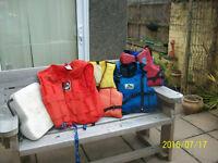 buoyancy vests/ lifejackets