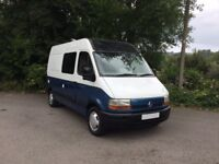 RENUALT MASTER T33 2.8 TD MWB DAY CAMPER VAN/BRAND NEW FULL STYLISH CONVERSION/NEW MOT/mazda bongo