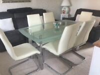 Dining table in immaculate condition. CHAIRS NOT INCLUDED