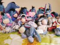 30 Eeyore Soft Toy Collection