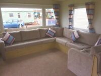 Stunning 2018 6 berth holiday home for sale Sandy Bay .North east coast on a 5 star park .Fees paid