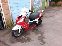 2011 peugeot speedfight 3 moped
