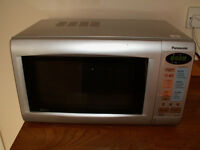 Panasonic Silver NN-K125MB 880W microwave oven with 1000W quartz grill
