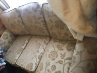 3 seater gold sofa - Free